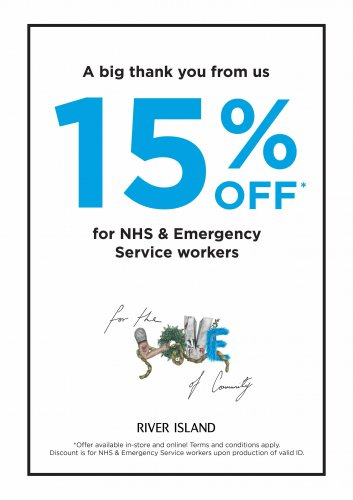 15% off for NHS & Emergency Service workers